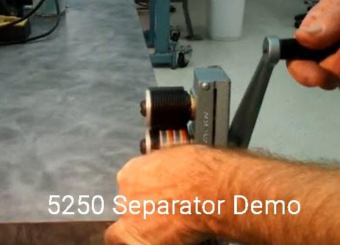 5250 Separator Demo photo