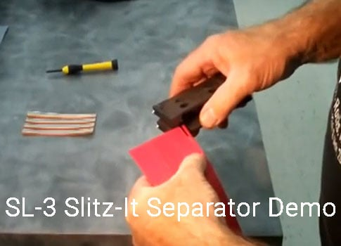 photo for SL-3 Slitz-It Separator Demo Video